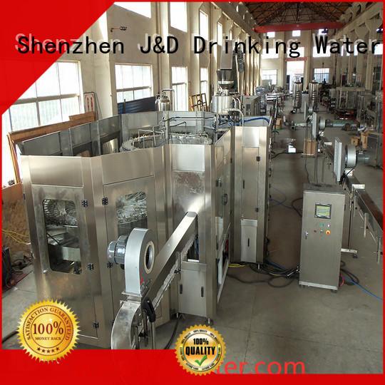 автоматическая разливочная машина J & D WATER Производство автоматических бутылочных автоматов