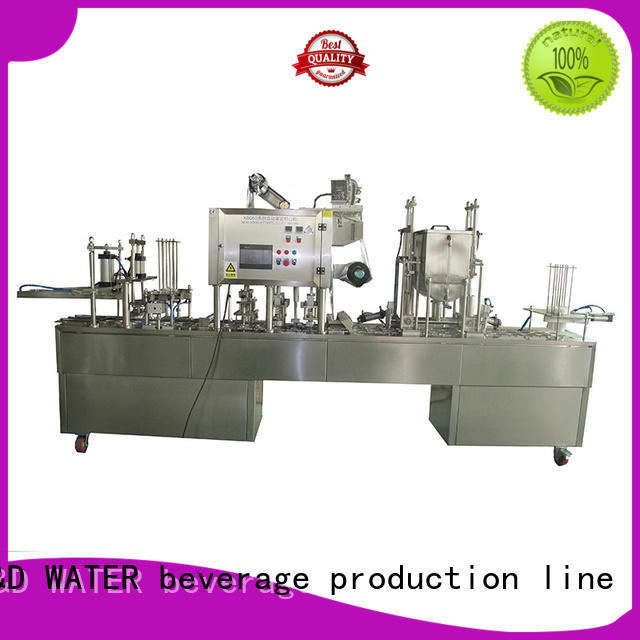 J&D WATER cup filling machine complete function for cosmetic