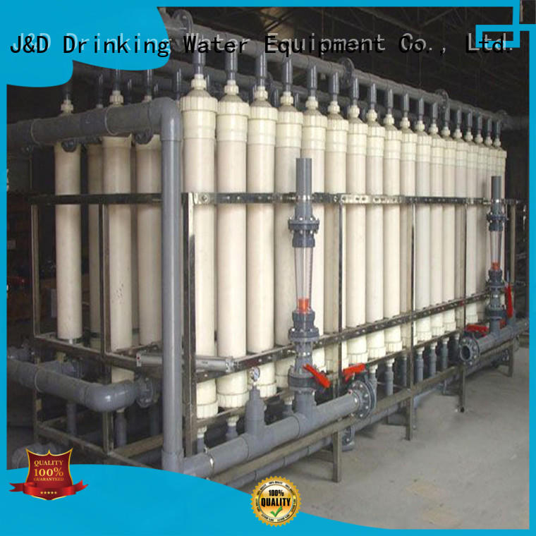 J&D WATER water plant machine softener for wastewater