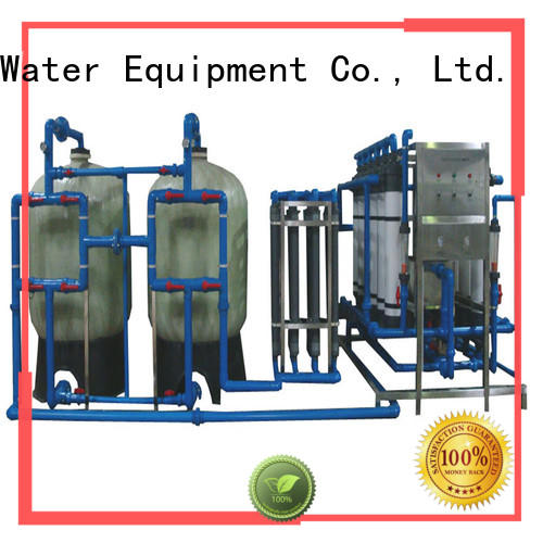 easy operation water purifier machine for plant softener for food