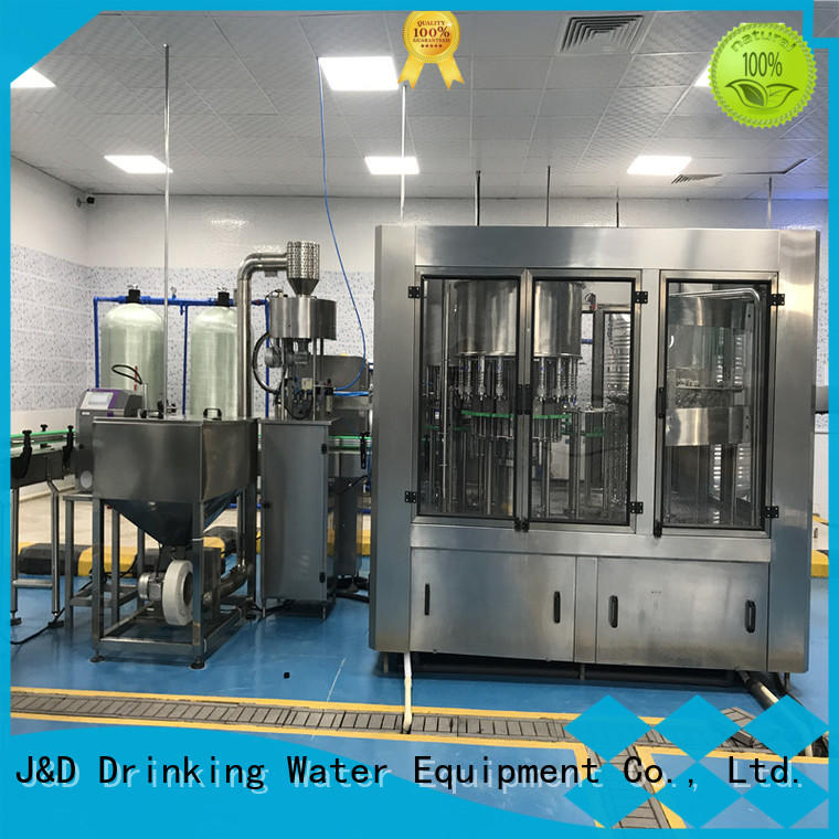 J&D WATER filler small bottle filling machine engineering for sauce