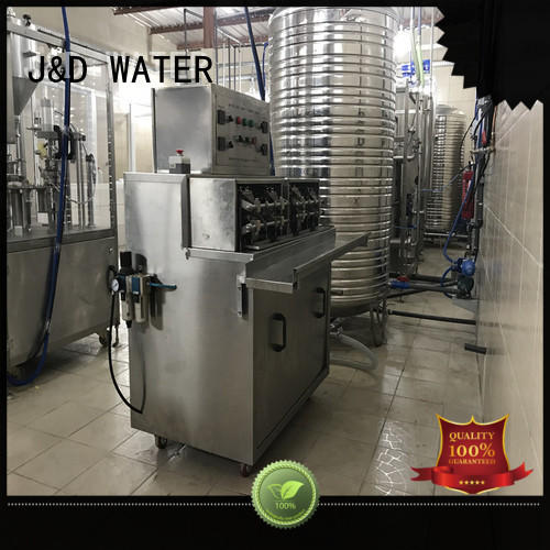 J&D WATER bagging machine stainless steel for container
