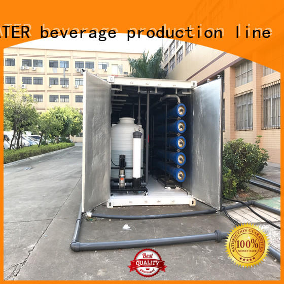 J&D WATER Economic sea water purifier stable service for sea shore cities