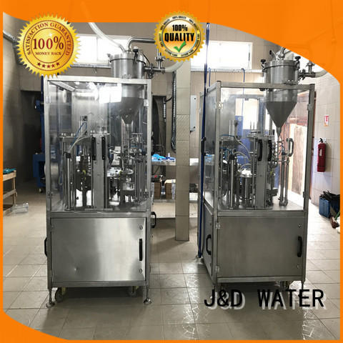 J&D WATER intelligent cup filling machine good quality for container