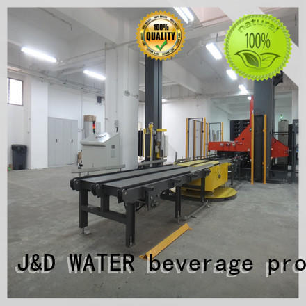 J&D WATER wrapping machine easy to operate for medicine