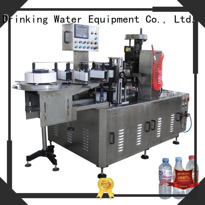 Машина для наполнения и маркировки бутылок клей для бутылок J & D WATER Маркировочная машина для бутылок с водой