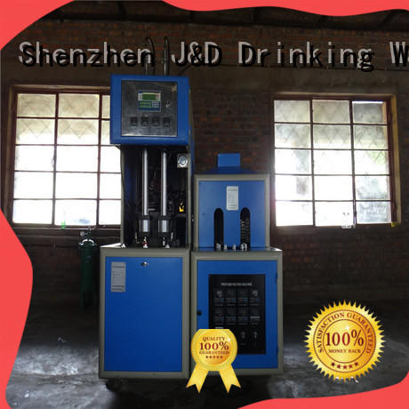 J&D WATER stretch stretch blow moulding machine stable oil bottles