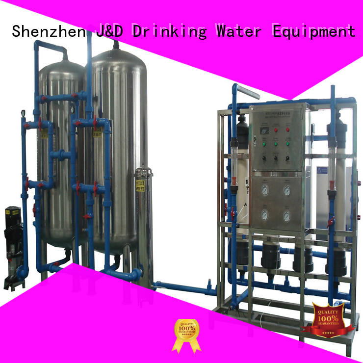 mineral water machine price plant for treatment plants J&D WATER