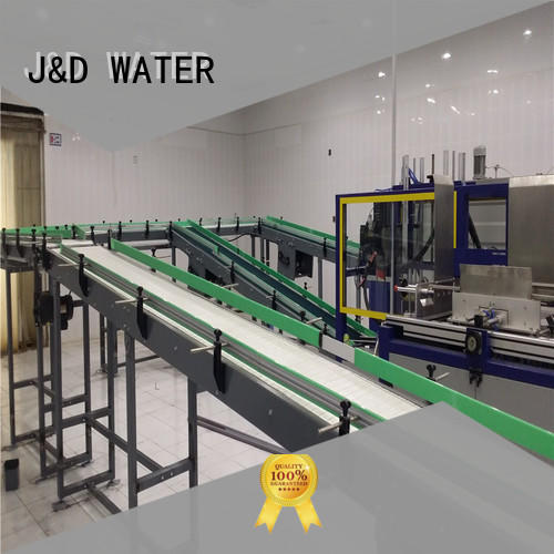 J&D WATER chain conveyor stability for drinking water
