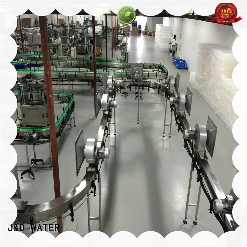 J&D WATER air conveyors manufacturer for food