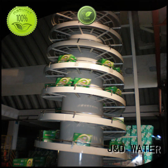 J&D WATER slat conveyor manufacturer for daily chemical