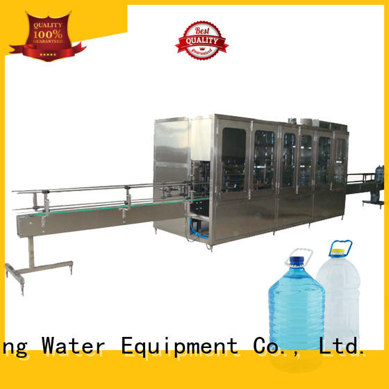 J&D WATER semi-automatic bottle blowing machine manufacturer for 2 Gallon