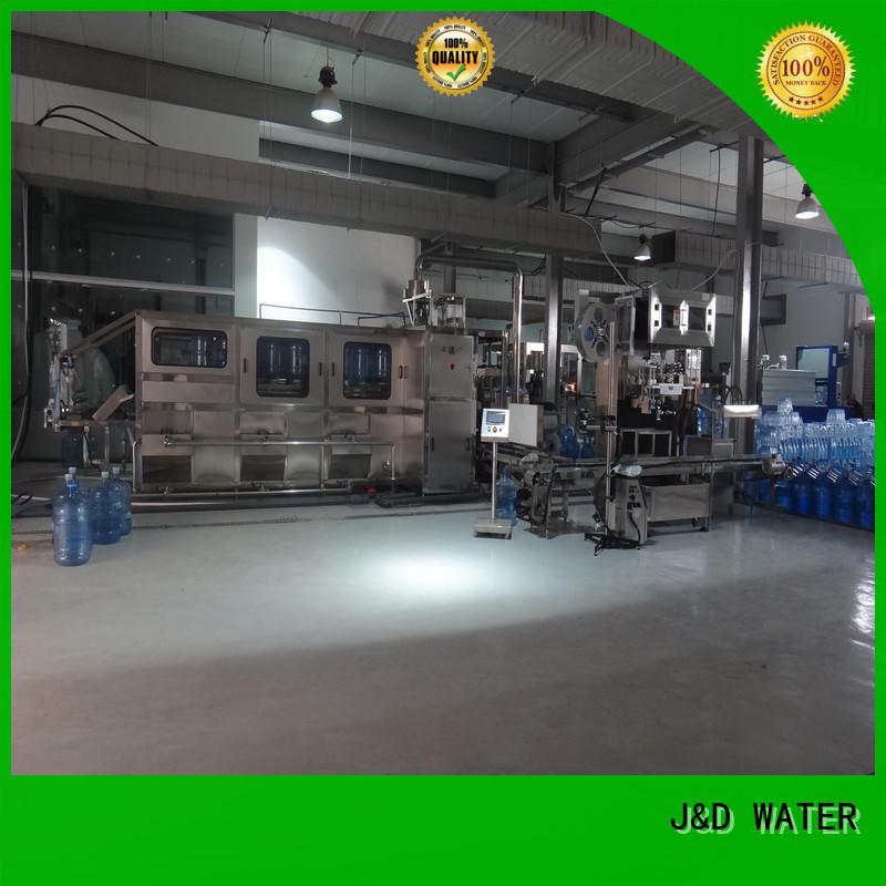 J&D WATER adjusted aseptic bag filling machine factory for tea