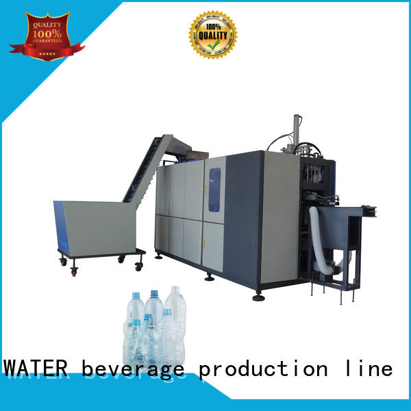 J&D WATER plastic bottle machine effortlessly for cosmetic