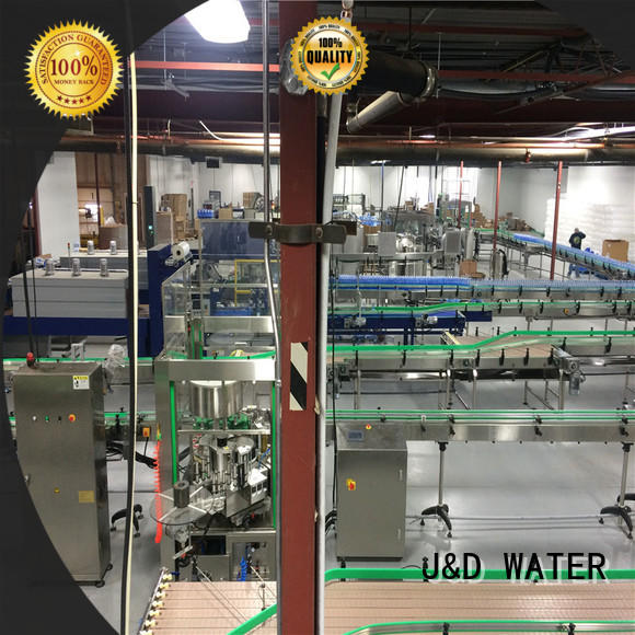 J&D WATER high quality chain conveyor high efficiency for daily chemical