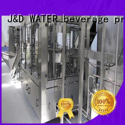 J&D WATER volumetric filling machine factory for vinegar