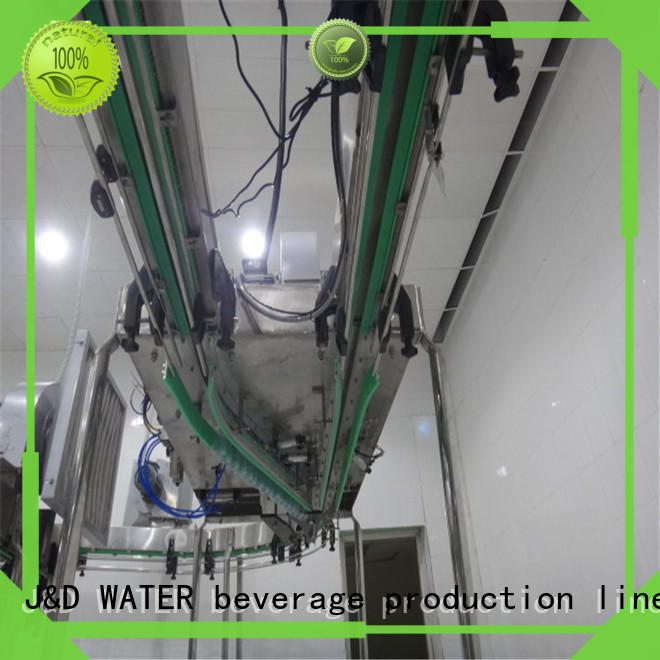 J&D WATER bottle conveyor high efficiency for drinking