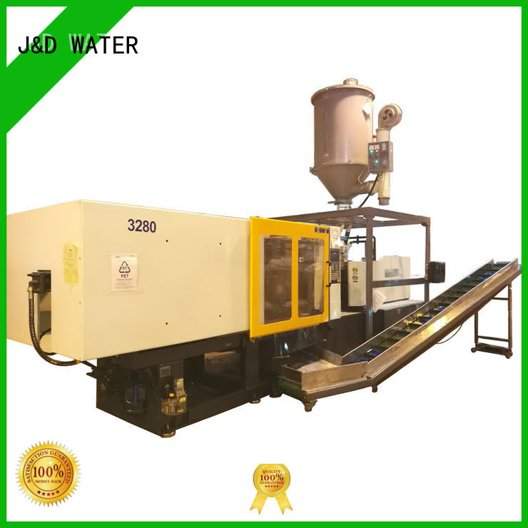 J&D WATER automatic injection molding machine cost for manufacturing for plastic products