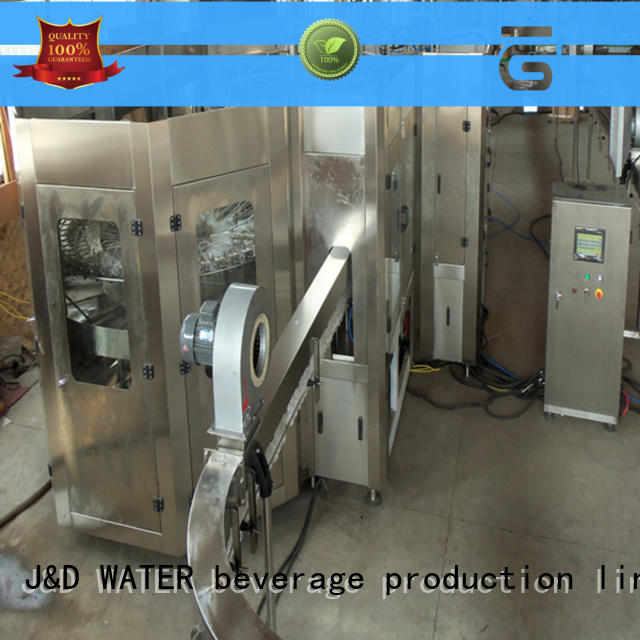 J&D WATER bottle capping machine stainless steel for pure water