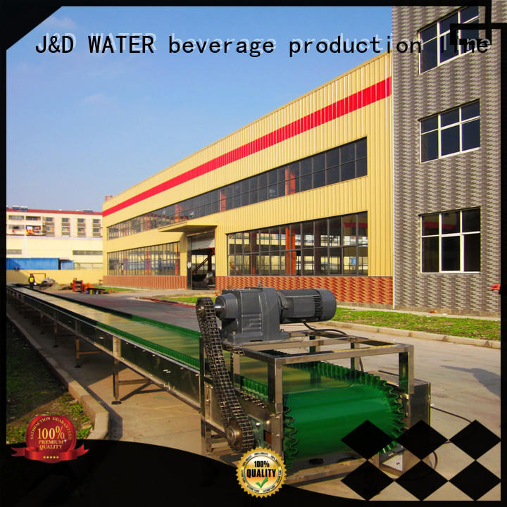 J&D WATER Customized chain conveyor stability for food