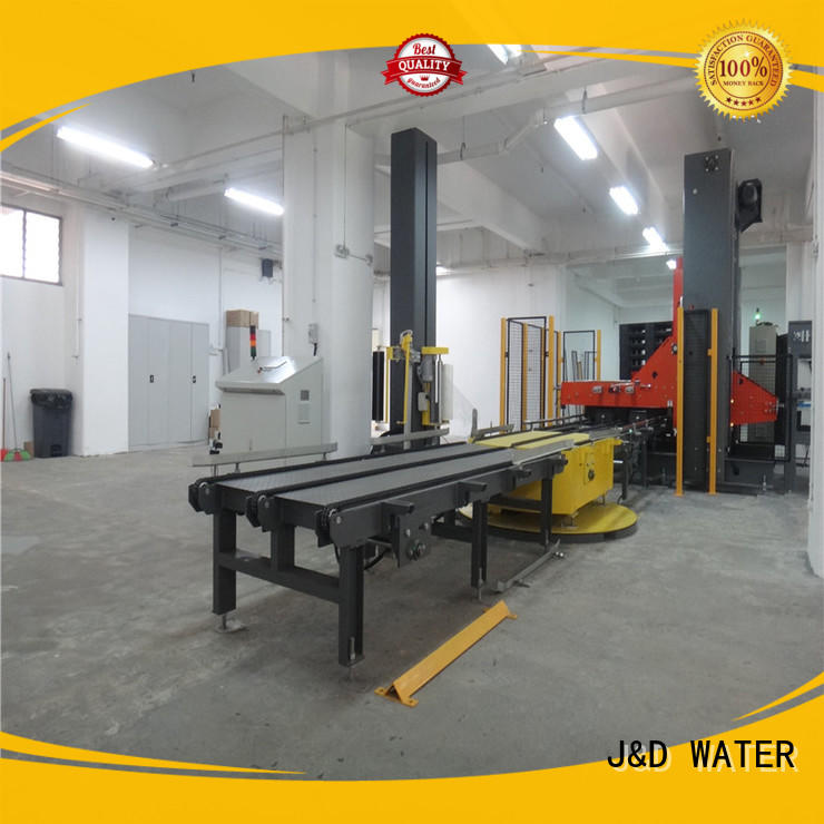 J&D WATER wrapping machine reduce cost for beer