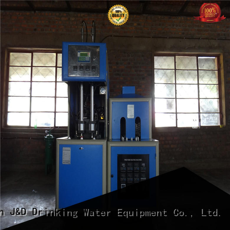 bottle automatic blow moulding machine for sale for cosmetics bottles J&D WATER