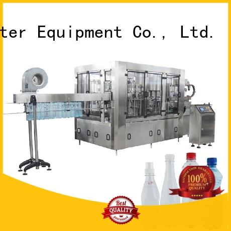 pet bottle filling machine capping for tea J&D WATER