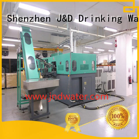semi automatic pet blowing machine price blow bottle J&D WATER Brand company