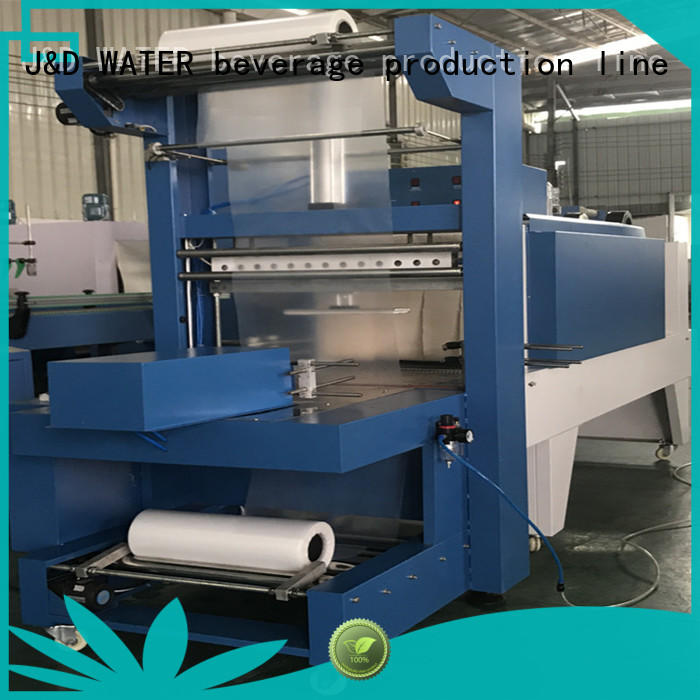 J&D WATER intelligent heat shrink machine for medicine
