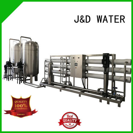 J&D WATER standrad reverse osmosis water purifier With Steel for industrial waste treatment