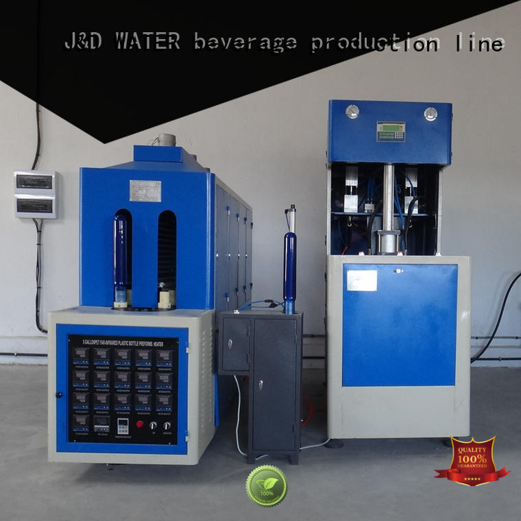 J&D WATER blow moulding machine CE standard for blowing machine