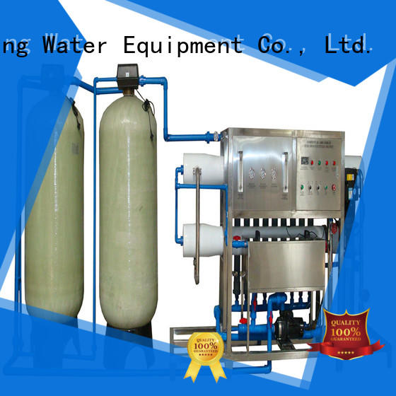 J&D WATER easy operation ro machine equipment for drinking water for treatment