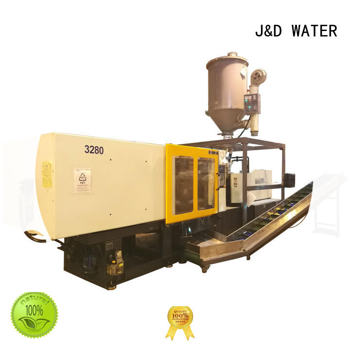 J&D WATER easily operation automatic plastic injection moulding machine price for cap