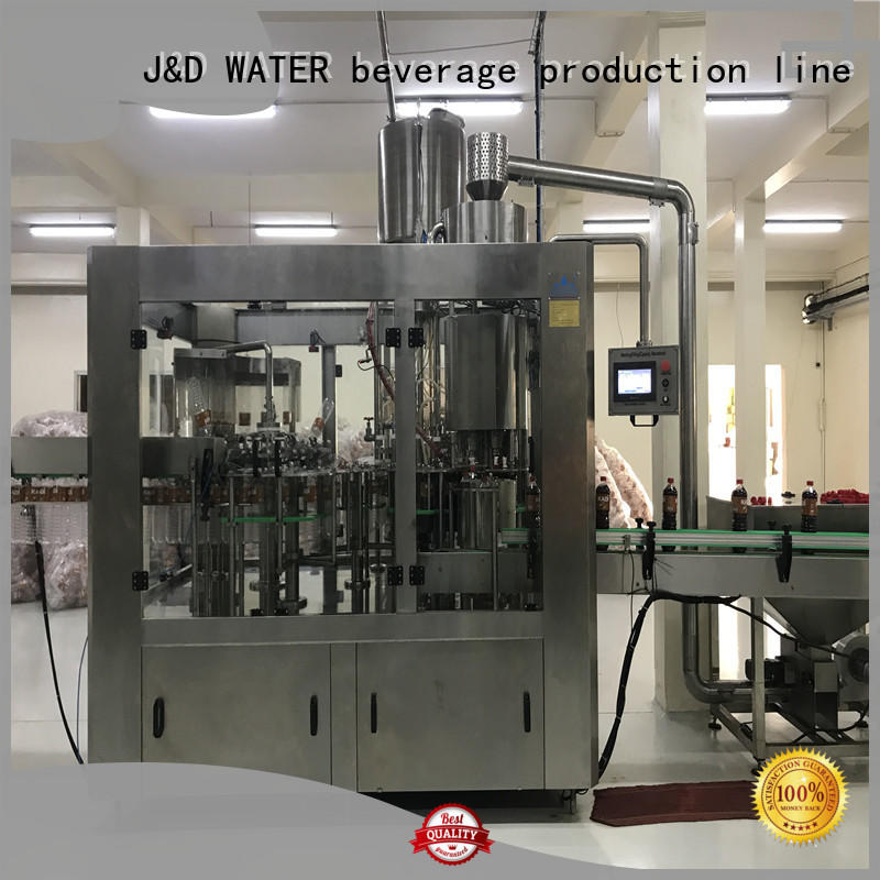J&D WATER auto packing machine high automation for milk
