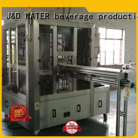 J&D WATER easy operation bag filling machine factory for beverage