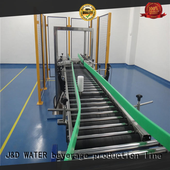 J&D WATER automated conveyor systems high efficiency for food