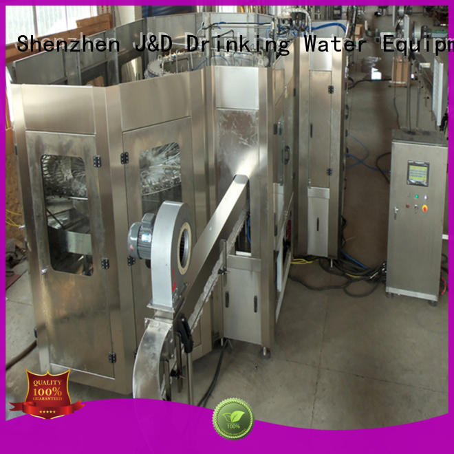 J&D WATER bottle water bottling machine stainless steel for juice