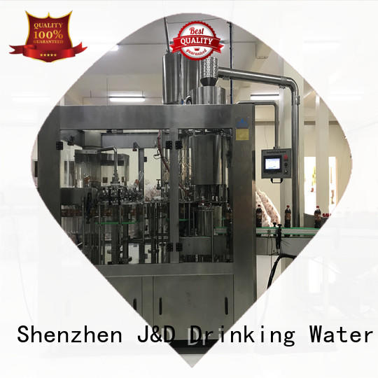 fully bottle capping machine high automation mineral water J&D WATER