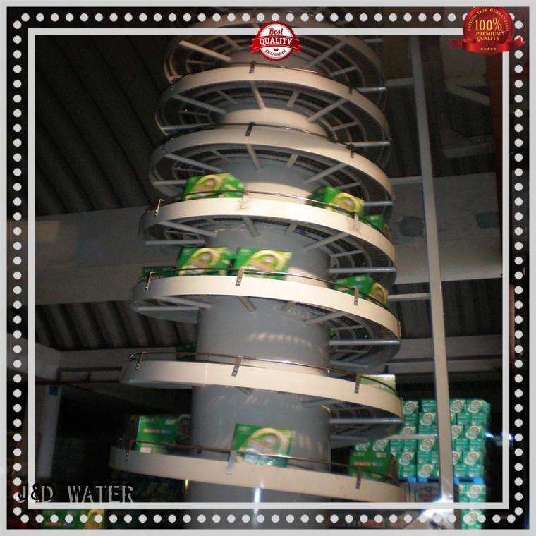 J&D WATER slat conveyor stainless steel for beverage,