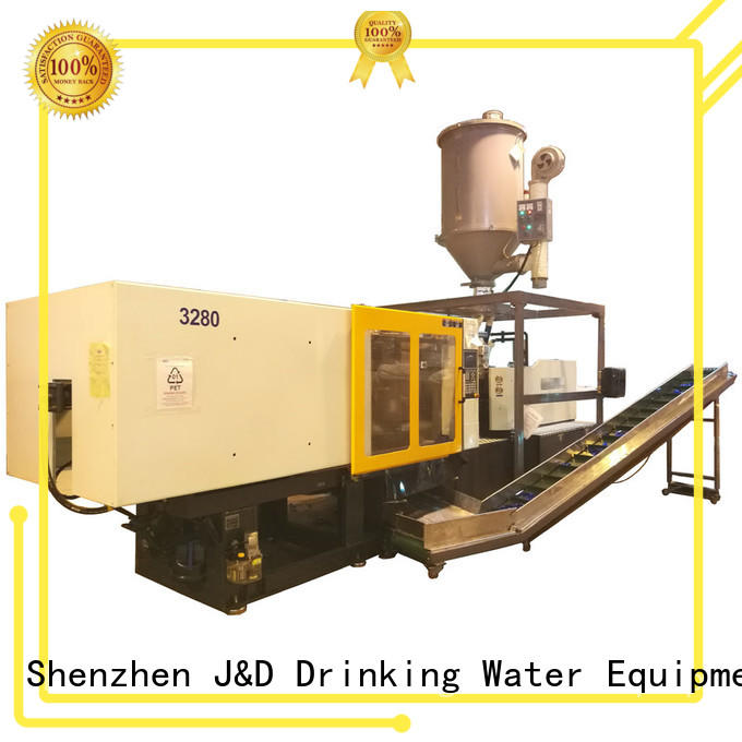 benchtop plastic injection molding machine molding for mold making J&D WATER
