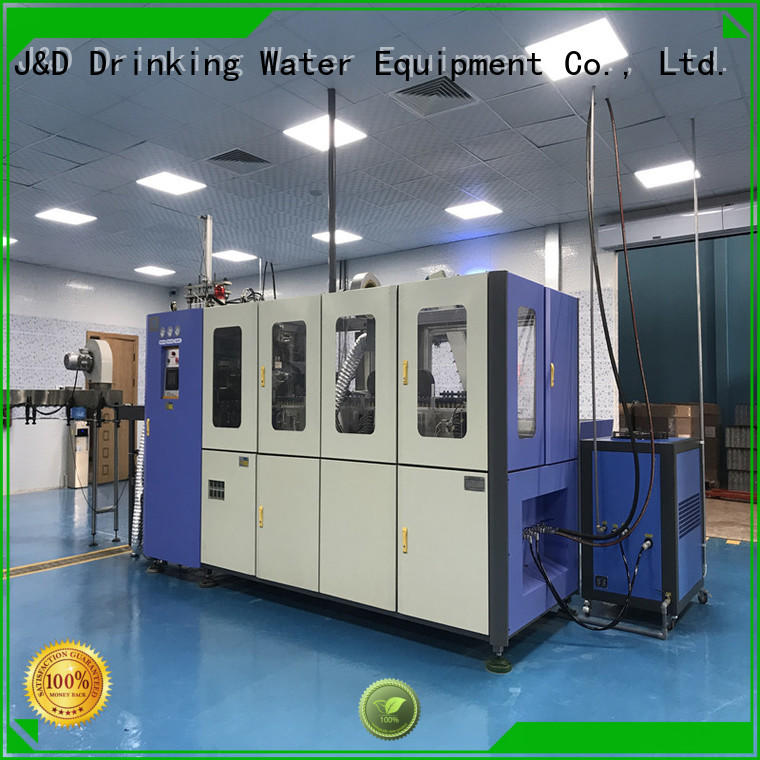 J&D WATER Automatic pet bottle machine stable for package