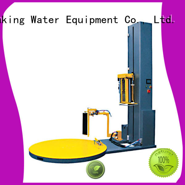 pallet stretch wrapping machine prestretch for beer J&D WATER