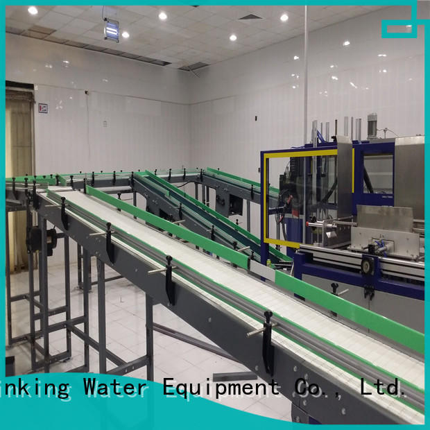 slat chain conveyor stainless for drinking water J&D WATER