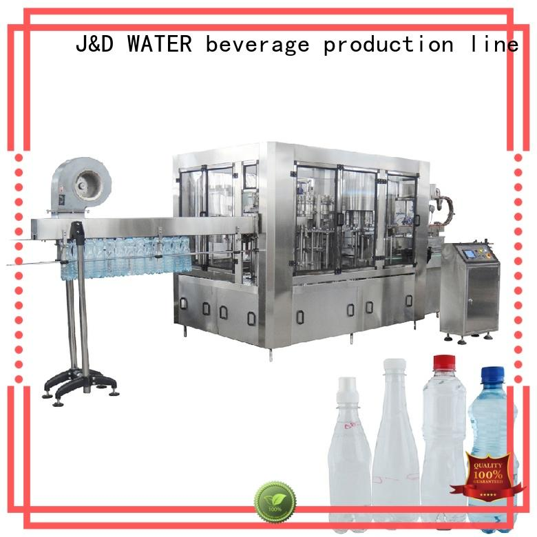bottle capping machine high automation for PET J&D WATER