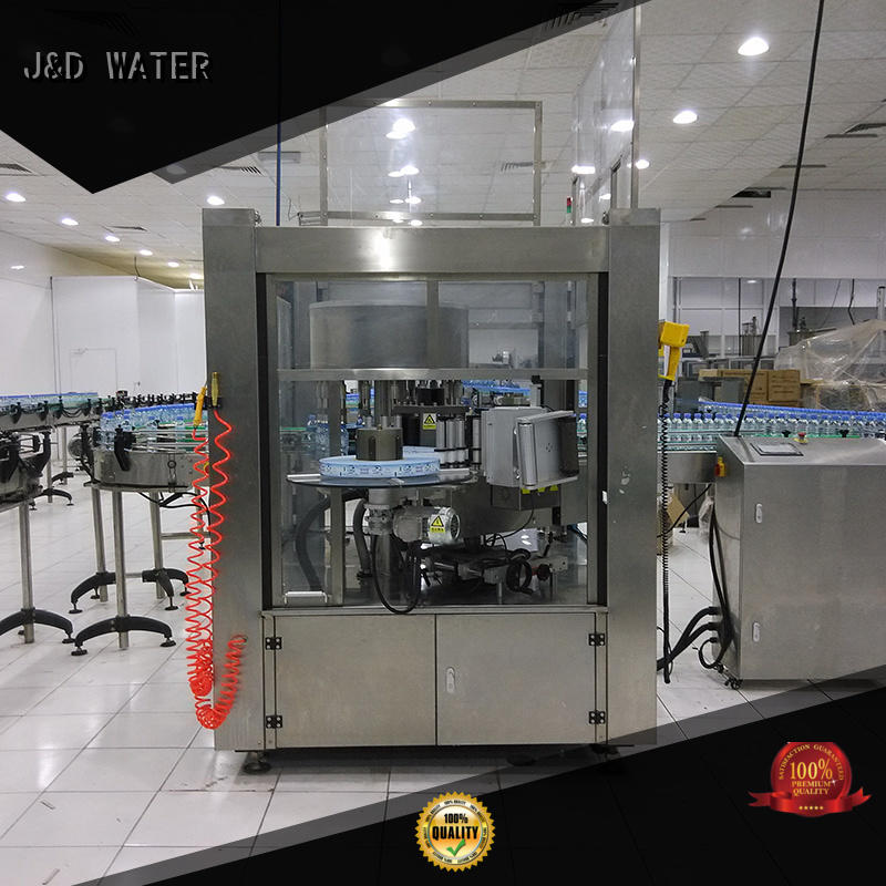 High Speed water bottle labeling machine quickly for metal container