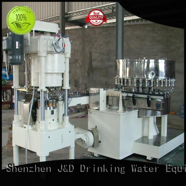 J&D WATER Brand filling sealing tin can sealing machine