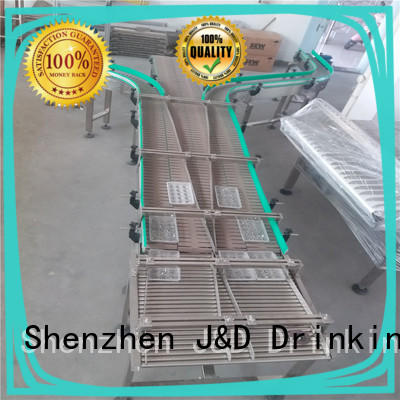 energy saving conveyor chain manufacturers manufacturer for drinking water J&D WATER