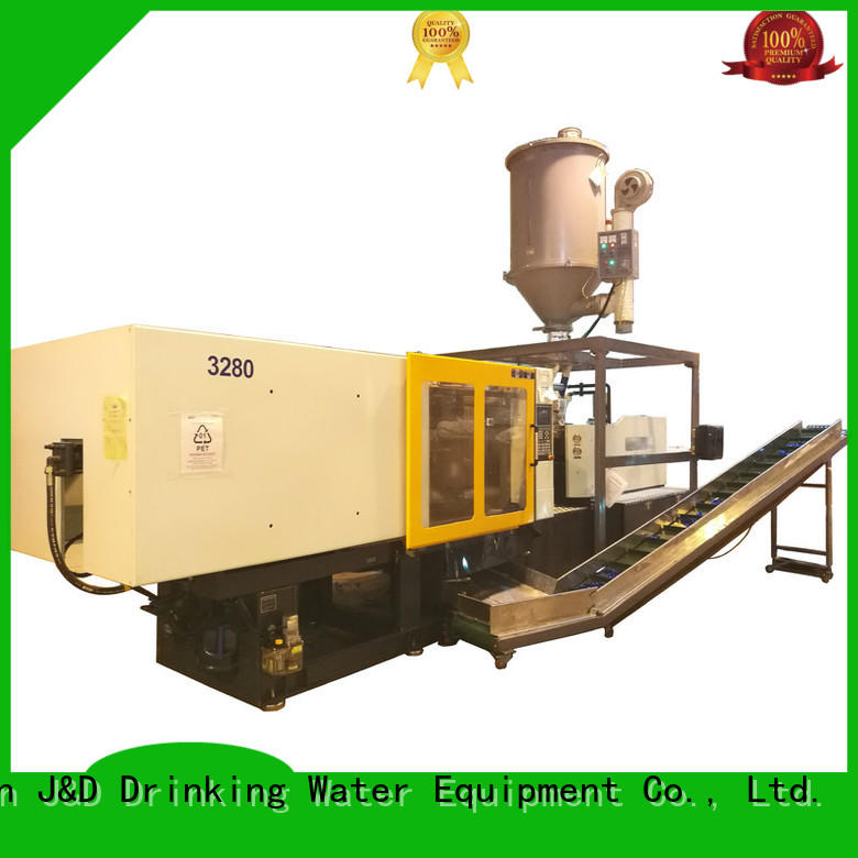 J&D WATER automatic injection molding machine molding for mold making