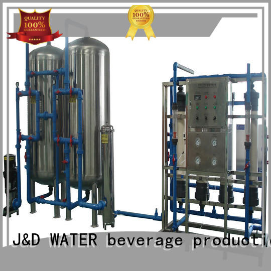 J&D WATER mineral water machine purifier for beverage