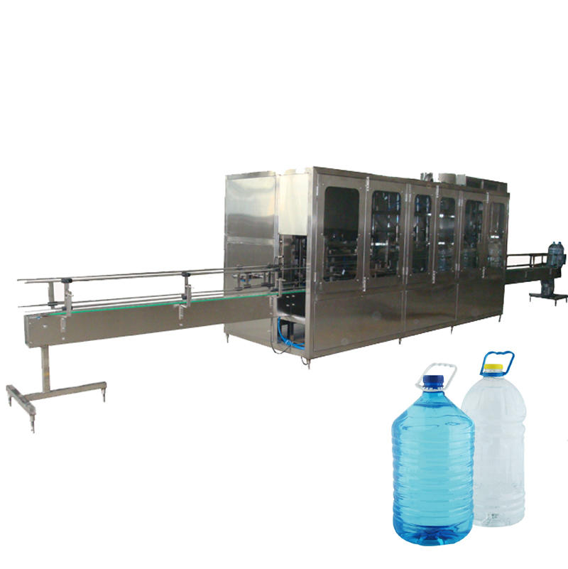 JD WATER-Automatic 3-10 L Bottle Liquid Washing Filling Capping Machine